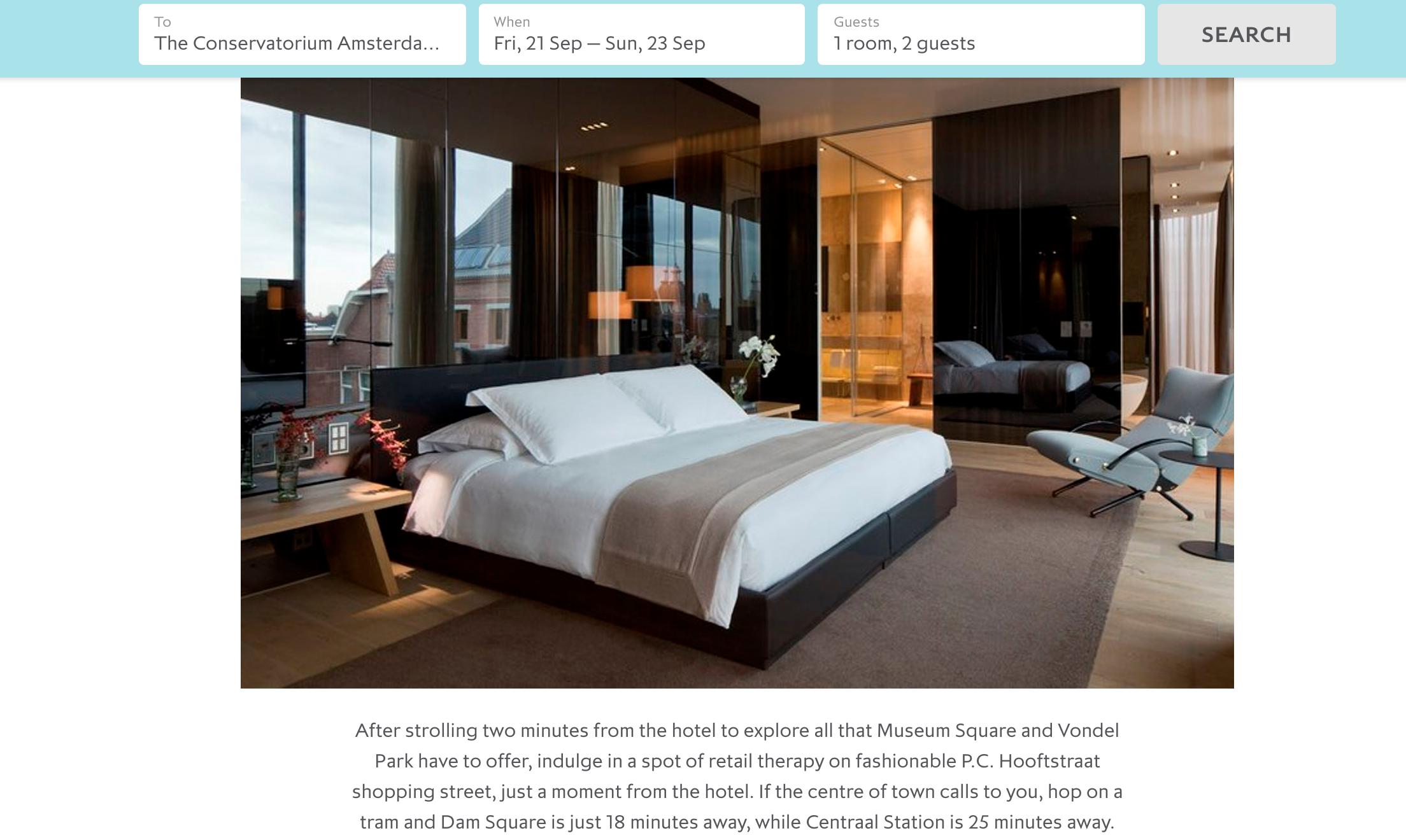 Eurostar hotels