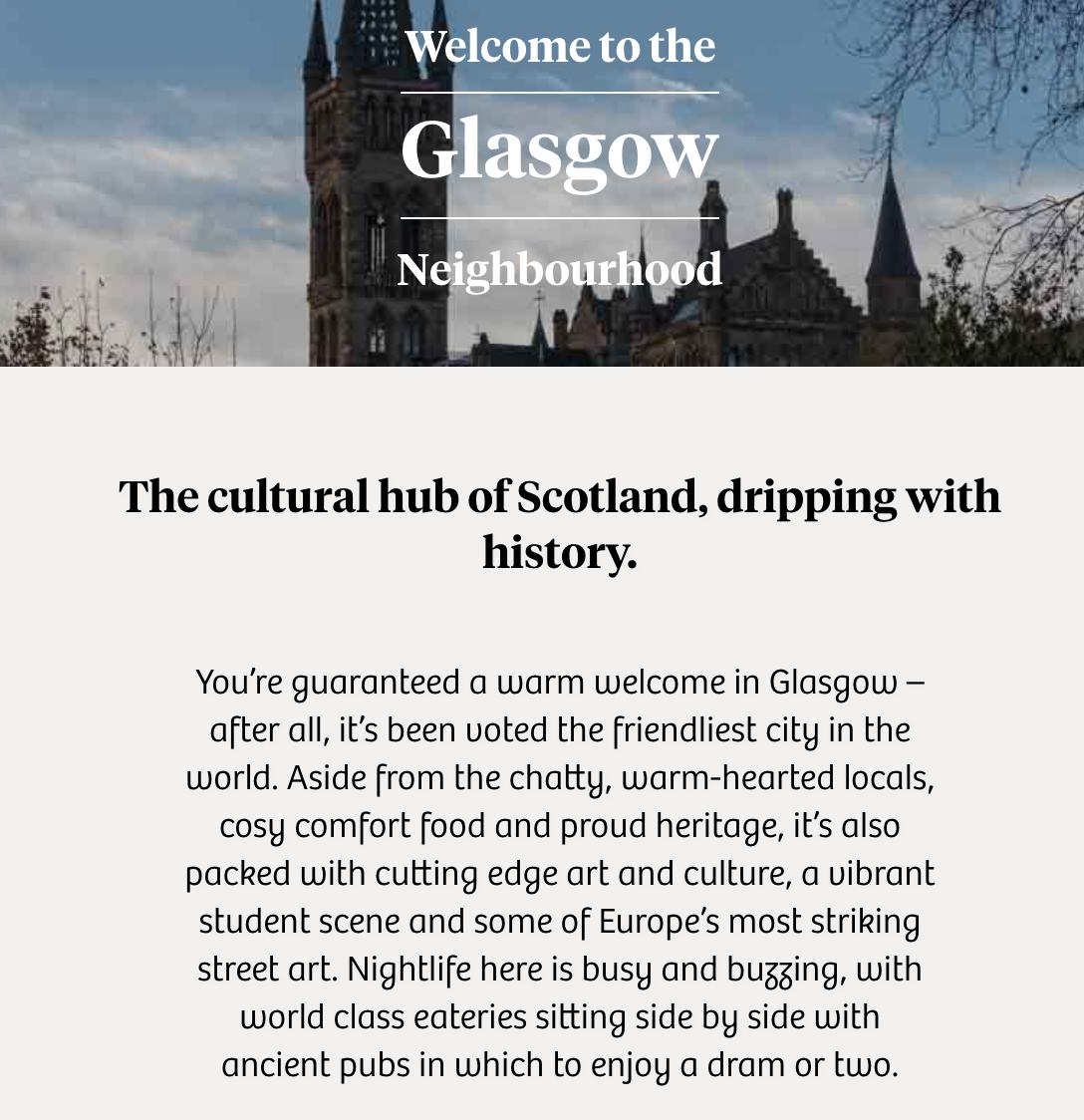 Native Glasgow
